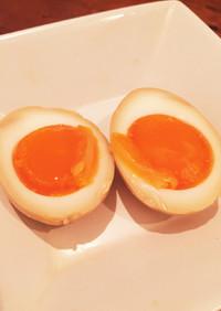 半熟トロトロ味付け卵♩ごま油風味