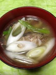 簡単旨汁♪カサゴのアラ汁(お味噌汁)の写真