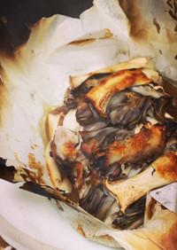 鶏と色々キノコの包み焼き♪