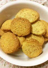 糖質制限!大豆粉フラックスシードクッキー