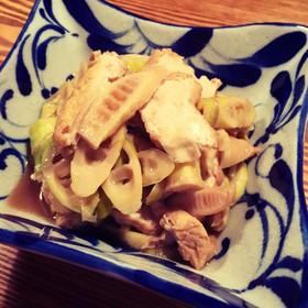 簡単☆淡竹(はちく)と厚揚げの煮物