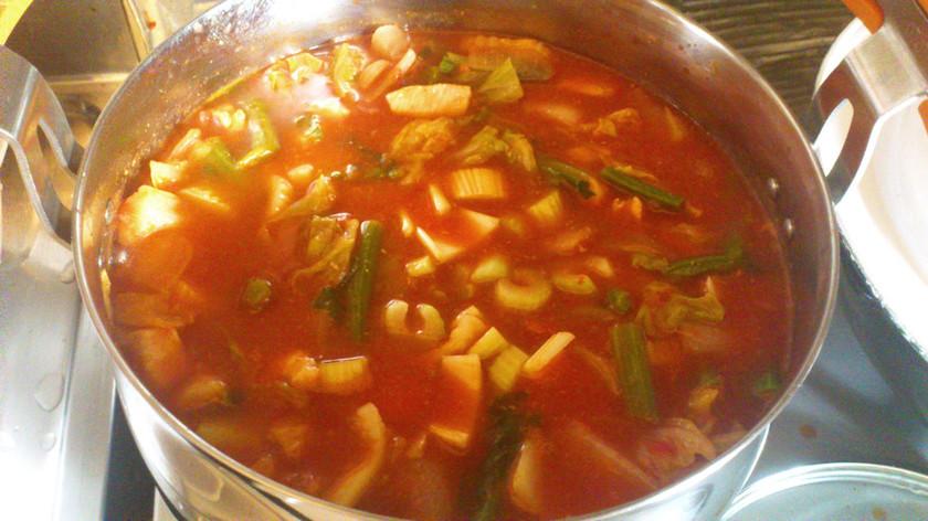 野菜たっぷりトマトスープでデトックス