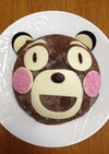 簡単ガトーショコラのアイスケーキ