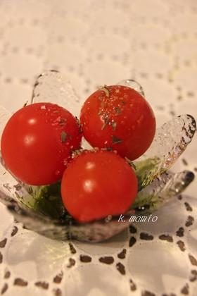 簡単♪クレソルトマト