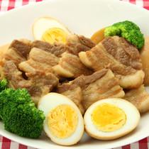 豚の厚切り煮