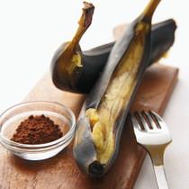 レンジでお手軽バナナ