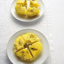 パイナップルのクリームチーズサンド