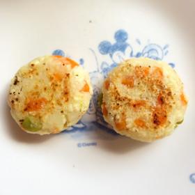 離乳食 中期 後期【豆腐ハンバーグ】