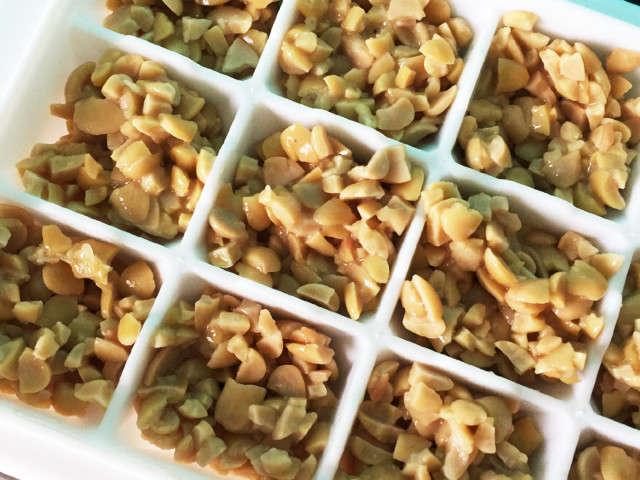 離乳食納豆