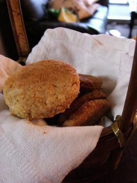ピーナッツバターとおからのクッキー