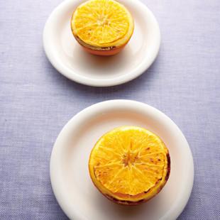 焼きオレンジのオリゴ糖がけ
