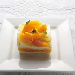 オレンジの簡単ケーキ