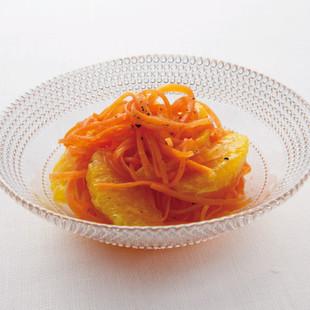 オレンジとにんじんのマリネ