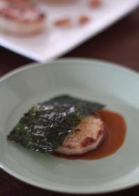 簡単おつまみ☆長芋の韓国海苔のせ