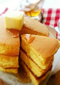 秘密は炭酸水✾超ぶ厚い!! ホットケーキ