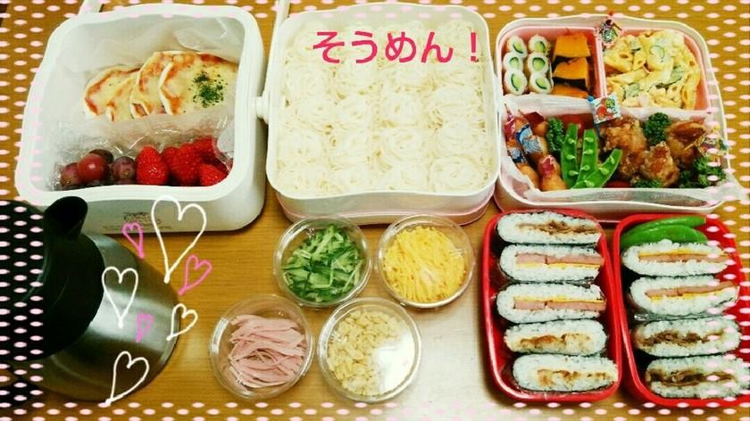 ☆2015  運動会のお弁当☆