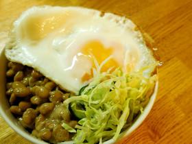 ダイエット☆納豆キャベツ丼