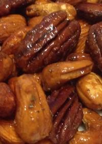 簡単スモークナッツ