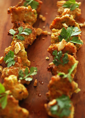 簡単◎鶏肉セロリのココナッツオイル纏め