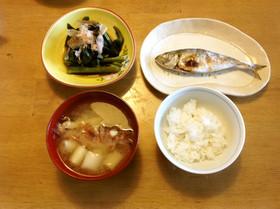 ガシラ(カサゴ)の味噌汁