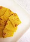 離乳食中期♡手づかみバナナ人参パンケーキ
