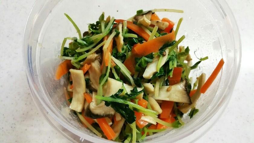 豆苗(小松菜、もやし)のナムル