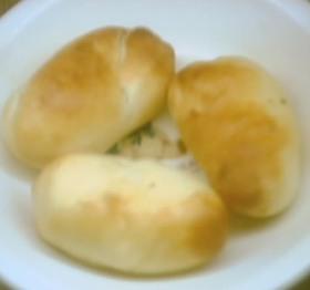レンジで発酵ビニール袋で作るパン