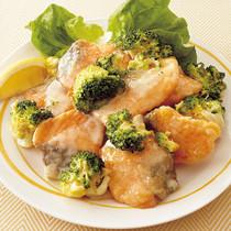 レモン風味鮭マヨ