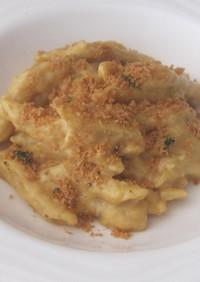 レンジで簡単マカロニチーズ