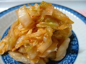 材料簡単気軽にパパッと!激ウマ白菜キムチ