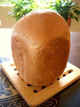 HBで☆生クリーム入りふわふわ食パン