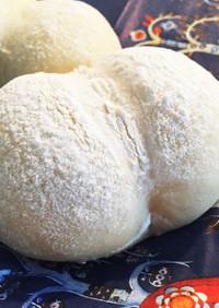 冷蔵庫で一晩発酵 手ごね白パン