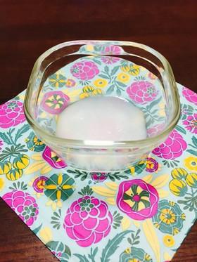 離乳食初期レンジで40秒米粉から10倍粥