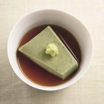 よもぎ豆腐
