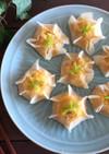 レンジで簡単*豆腐とちくわのシュウマイ