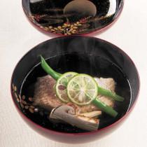 甘鯛と松茸のお椀
