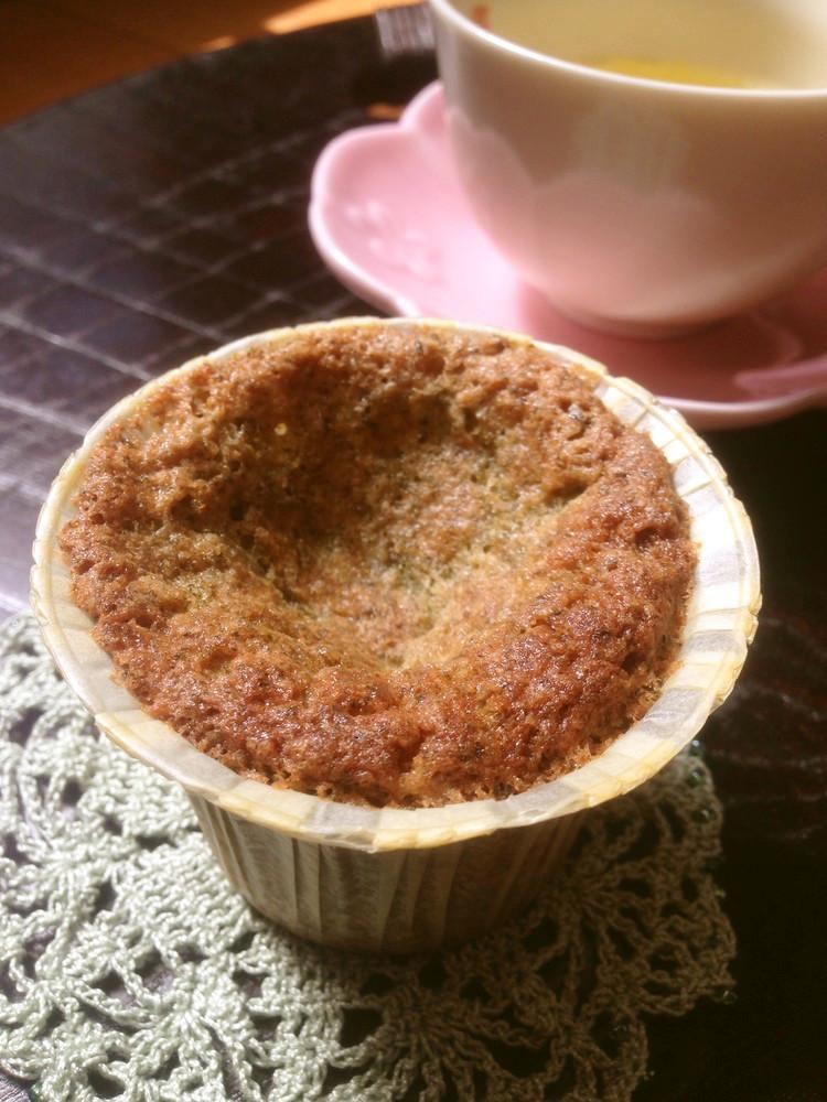 釜炒り茶カップケーキ