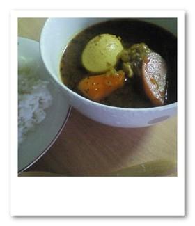 *市販ルーで作る簡単スープカレー*