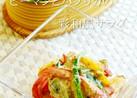 お弁当に☺ピーマンパプリカの彩和風サラダ