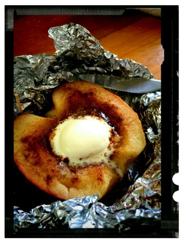 バーベキューのデザートに‼焼きリンゴ