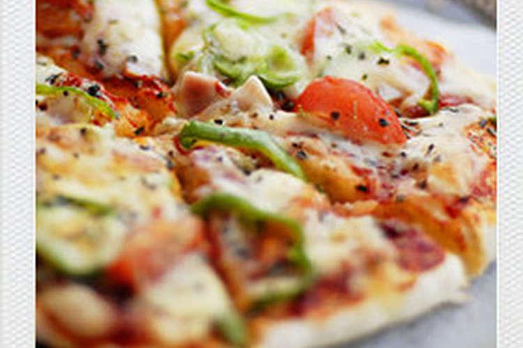 イースト 生地 簡単 なし ピザ