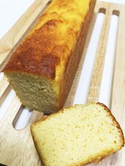 低糖質生おからのパウンドケーキの写真