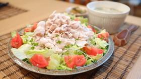 お肉がやわらか〜い☆冷しゃぶサラダ♪