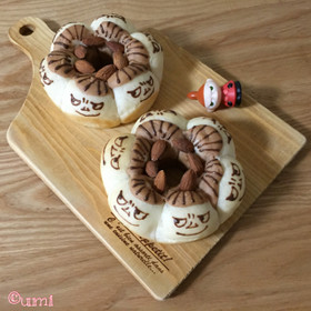 リトルミイちゃん風☆ちぎりパン