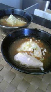 納豆おろしの雑煮☆の写真