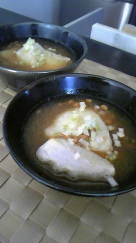 納豆おろしの雑煮☆