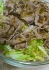 春キャベツの豚しゃぶサラダ
