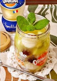ヨーグルト白玉入り✿涼菓オランジーナ