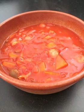 味付けはコンソメのみで簡単★トマトスープ