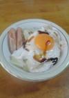しっかり朝御飯 - 目玉焼き丼